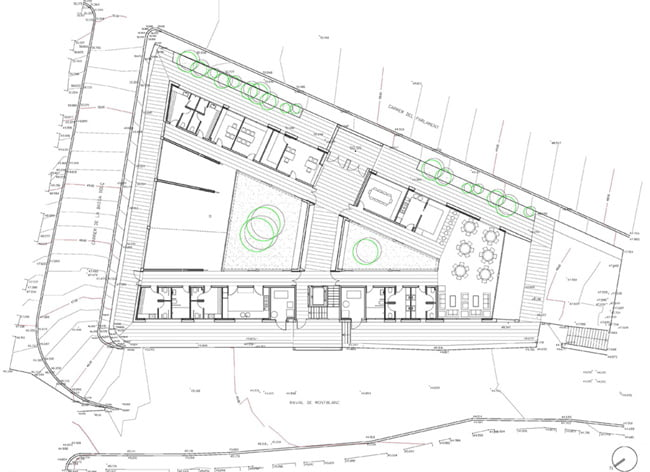 home for the elderly master layout plan