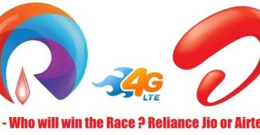 Reliance Jio 4G Vs,