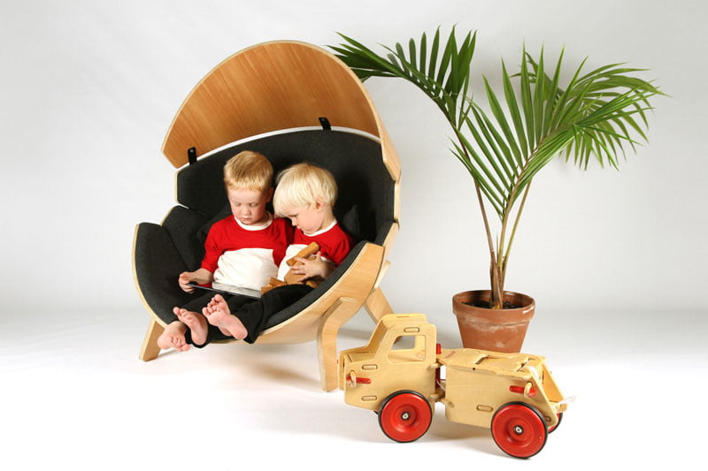 The Hideaway Chair Children's Chair by Think & Shift