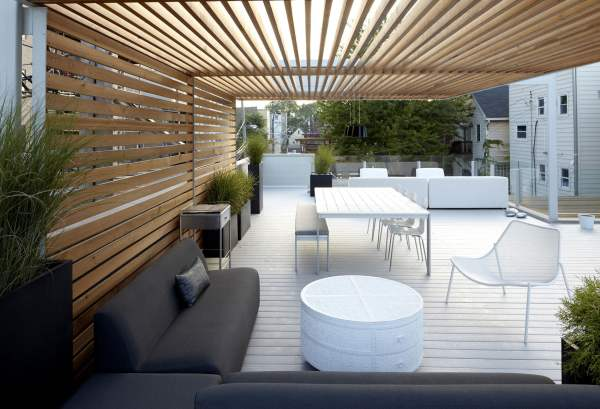 Make Screen out of Privacy Pergola
