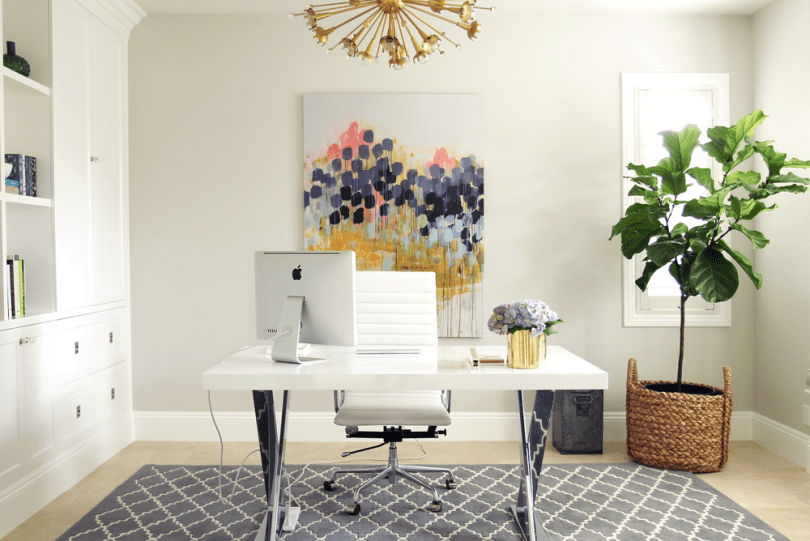Merge Nature with Home Office Furniture