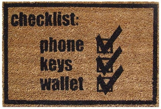 check-list-door-mat-tagline