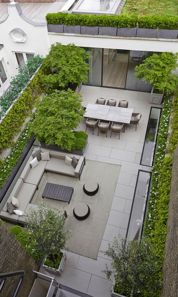 patio deck landscape principles in backyard landscaping ideas