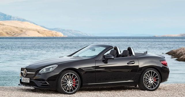 mercedes benz SLC 43 AMG,