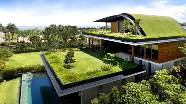 make environmentally friendly house design,