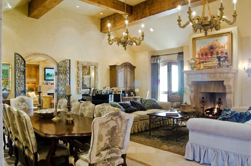 tuscan interior design examples and ideas