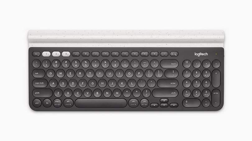logitech K780 full size keyboard with numerical pad