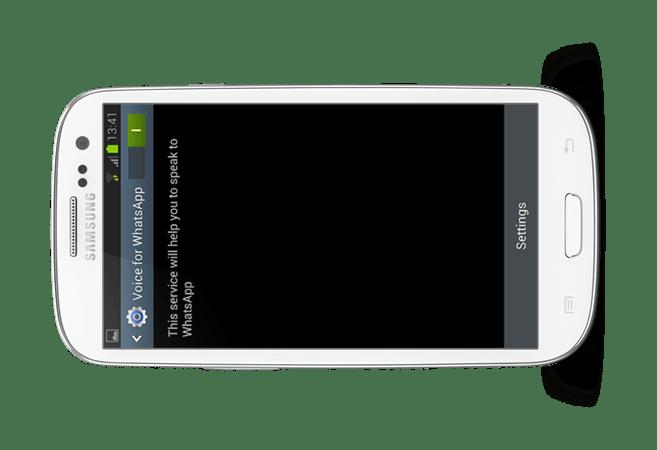 whatsapp speak feature update,