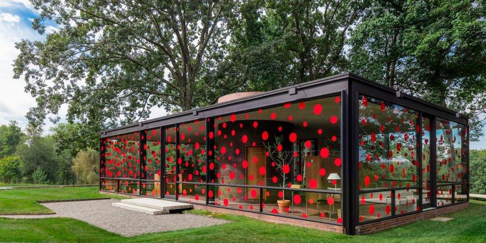 philip johnson glass house,