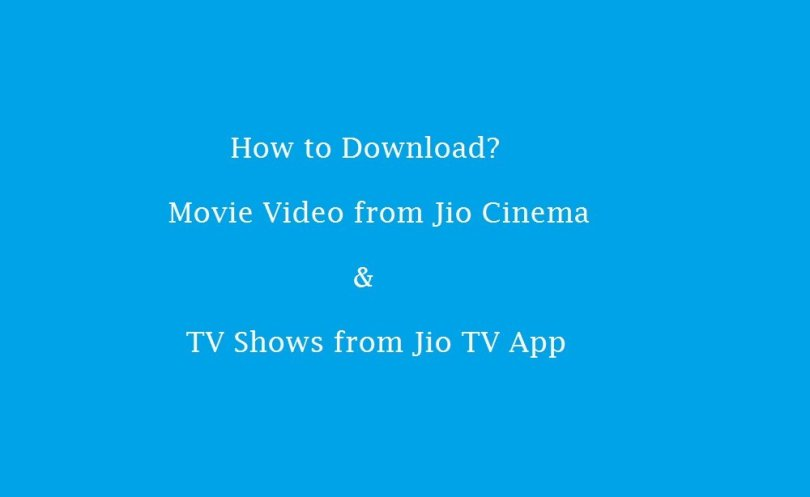 download movie video from jio cinema,