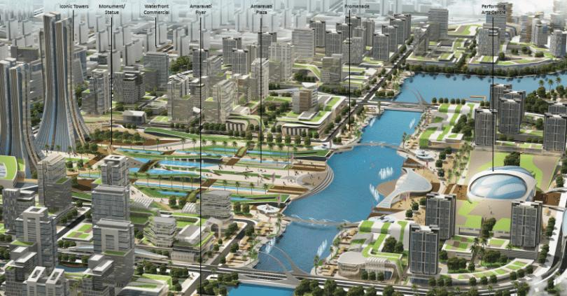 amaravati capital city plan,
