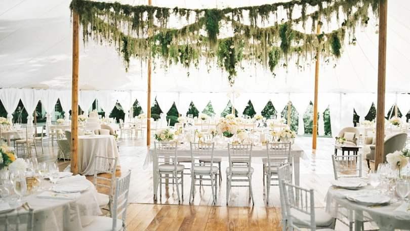 Outdoor wedding reception decoration ideas,