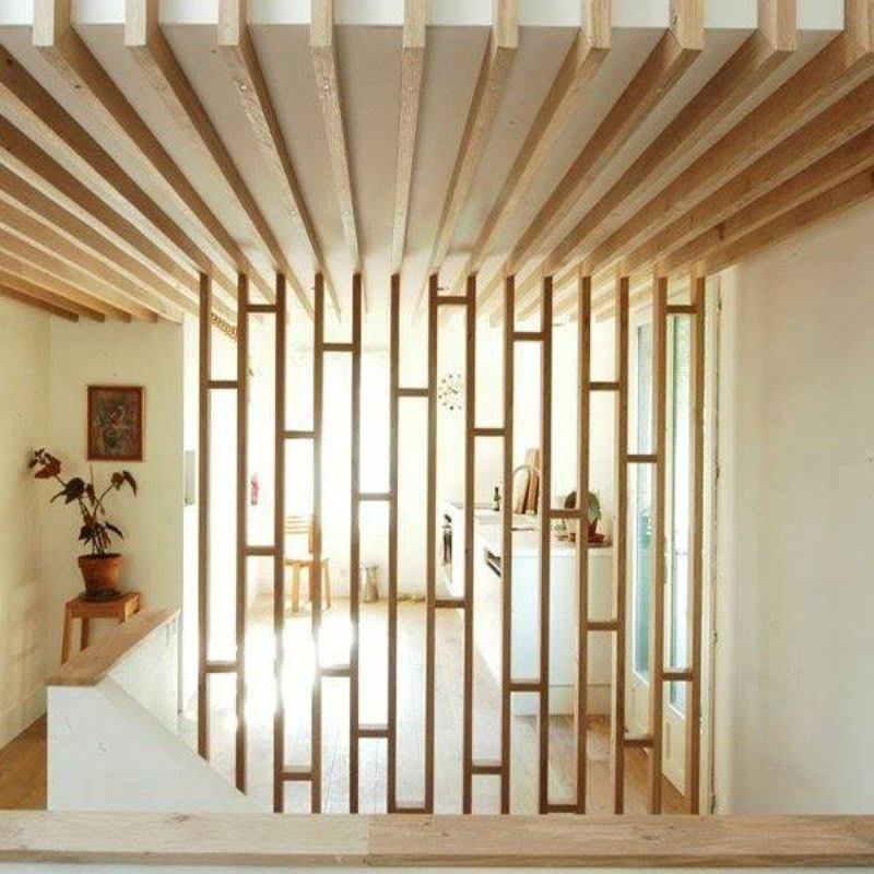 decorative wooden partition design,