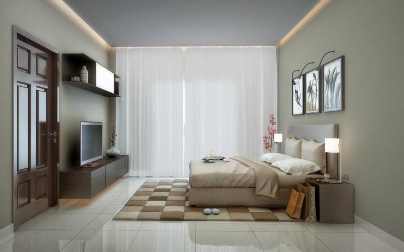 Modern Bedroom False Ceiling & Pop Light Design Ideas
