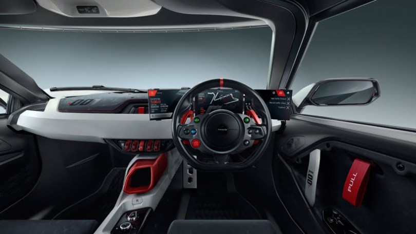 TATA TAMO Racemo Two seater Sports Car interior look,