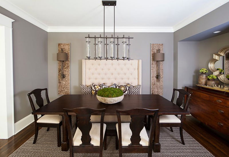 gray paint for dining room walls,