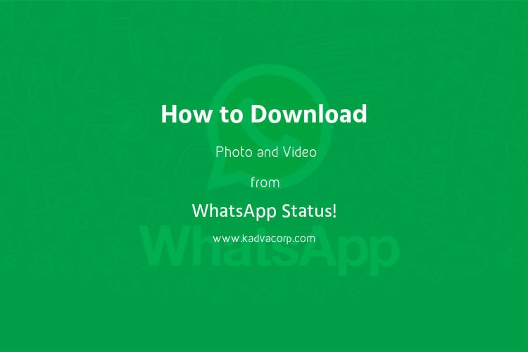 How To Download Photo And Video From Whatsapp Status Of Others