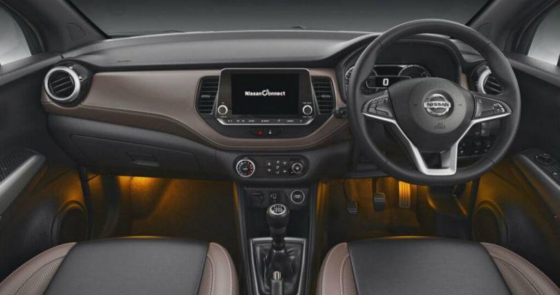 Nissan Kicks interior,