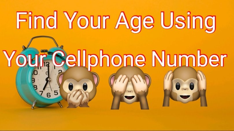 find cellphone number, find age,