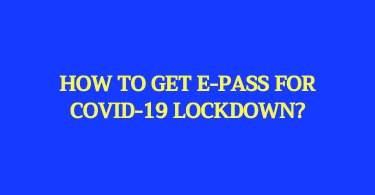 lockd0wn epass, covid19 epass online, lockdown pass online,