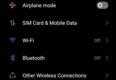 dark mode in mobile,