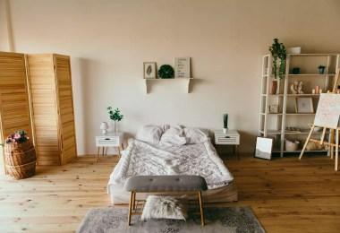 small bedroom interior,