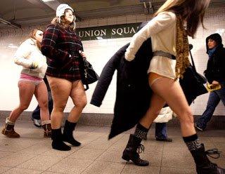 Global No Pants Subway Ride 2010