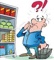 Homem No Supermercado.