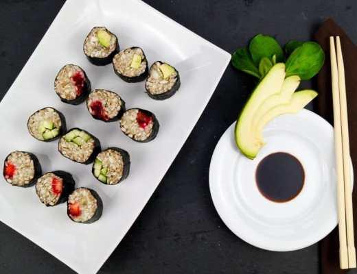 Vegane Sushi