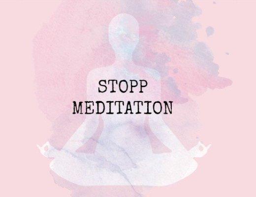 Osho Stopp Meditation