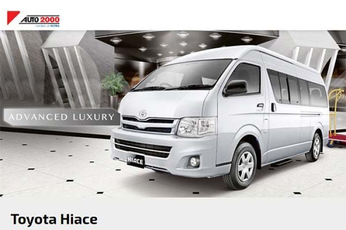 Harga Toyota Hiace Advanced Luxury Jakarta