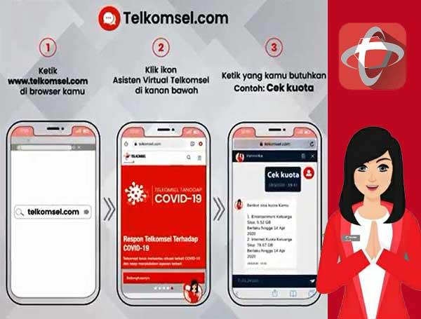 Akses Veronika Lewat Situs Telkomsel