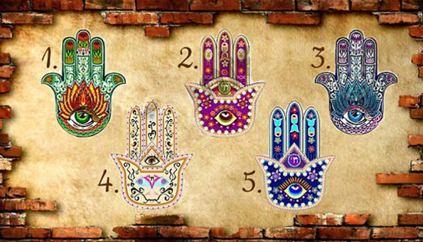 Choose the palm that most attracts you and find out which is your main life challenge