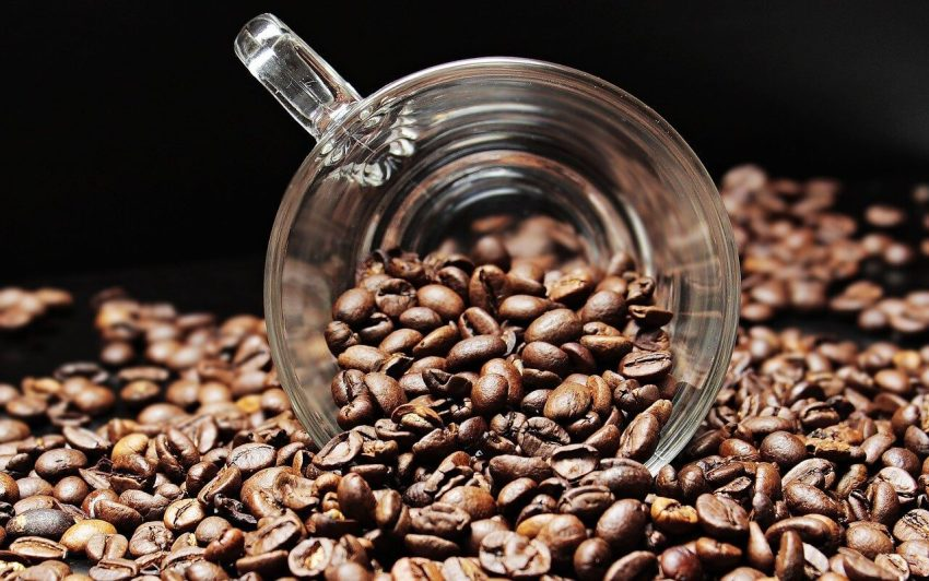 frisch gemahlene kaffeebohnen