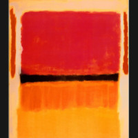 "Mark Rothko, ""Untitled (Violet, Black, Orange, Yellow on White and Red),"" 1949."