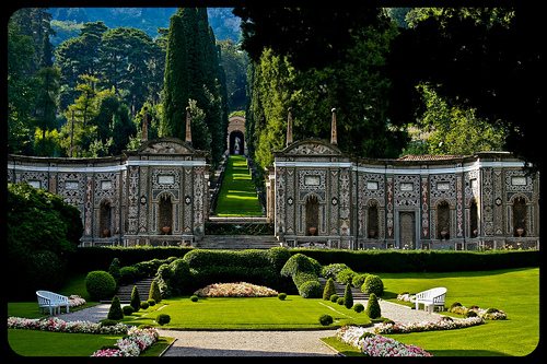 Villa d'Este. Photo: Mirko Costantini. http://www.mirkocostantini.it/