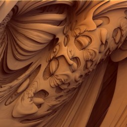 """""""Caramelized Hazelnut Swirl,"""" artist unknown. Source: skytopia.com"""