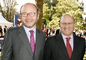 Alain and Gerard Wertheimer, owners of Chanel. Source: forbes.com