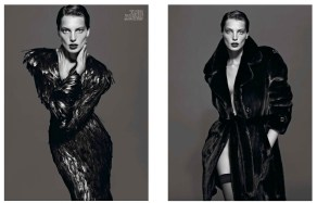 Daria Werbowy by photographers Mert & Marcus for French Vogue, September 2012. Source: tee-vanity.com