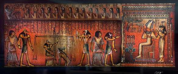 A page from the famous Book of the Dead, showing Anubis. Source: fantasticportfolios.com
