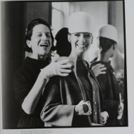 With Marisa Berenson perhaps. (Or Twiggy?) Source: Into The Gloss.