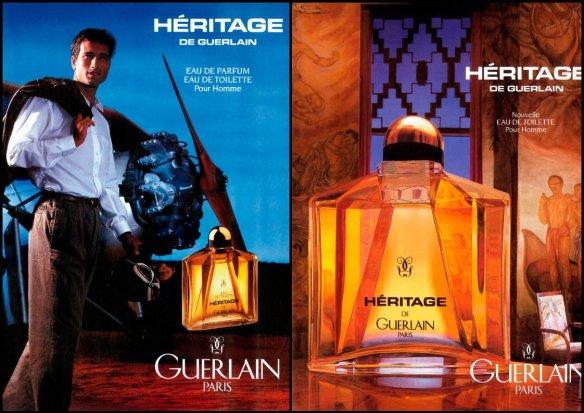 Vintage Heritage ad. Source: Basenotes.