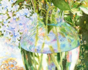 """Fall Hydrangeas"" by PatChoffrut at Etsy. (Store website link embedded within.)"