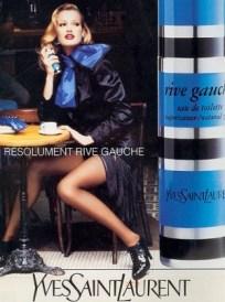 YSL Rive Gauche, vintage 1970s ad. Source: fragrantica.es