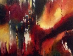 """""""Fire and Ice,"""" by Pamela Van Laanen. Source: AbsoluteArts.com (direct website link embedded within.)"""