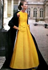 Jean Patou couture, circa 1969. Source: pinterest.