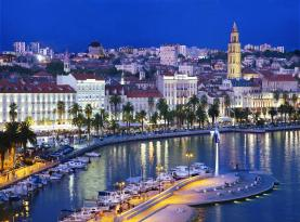 The city of Split in Croatia. Photo: Ante Verzotti, via charterworld.com
