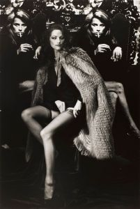 Charlotte Rampling. Photo: Helmut Newton. Source: culturaeculture.it