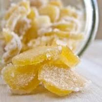 Candied ginger via dishmaps.com