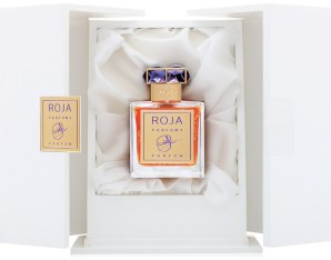 Roja Haute Luxe in its box via Fragrantica.